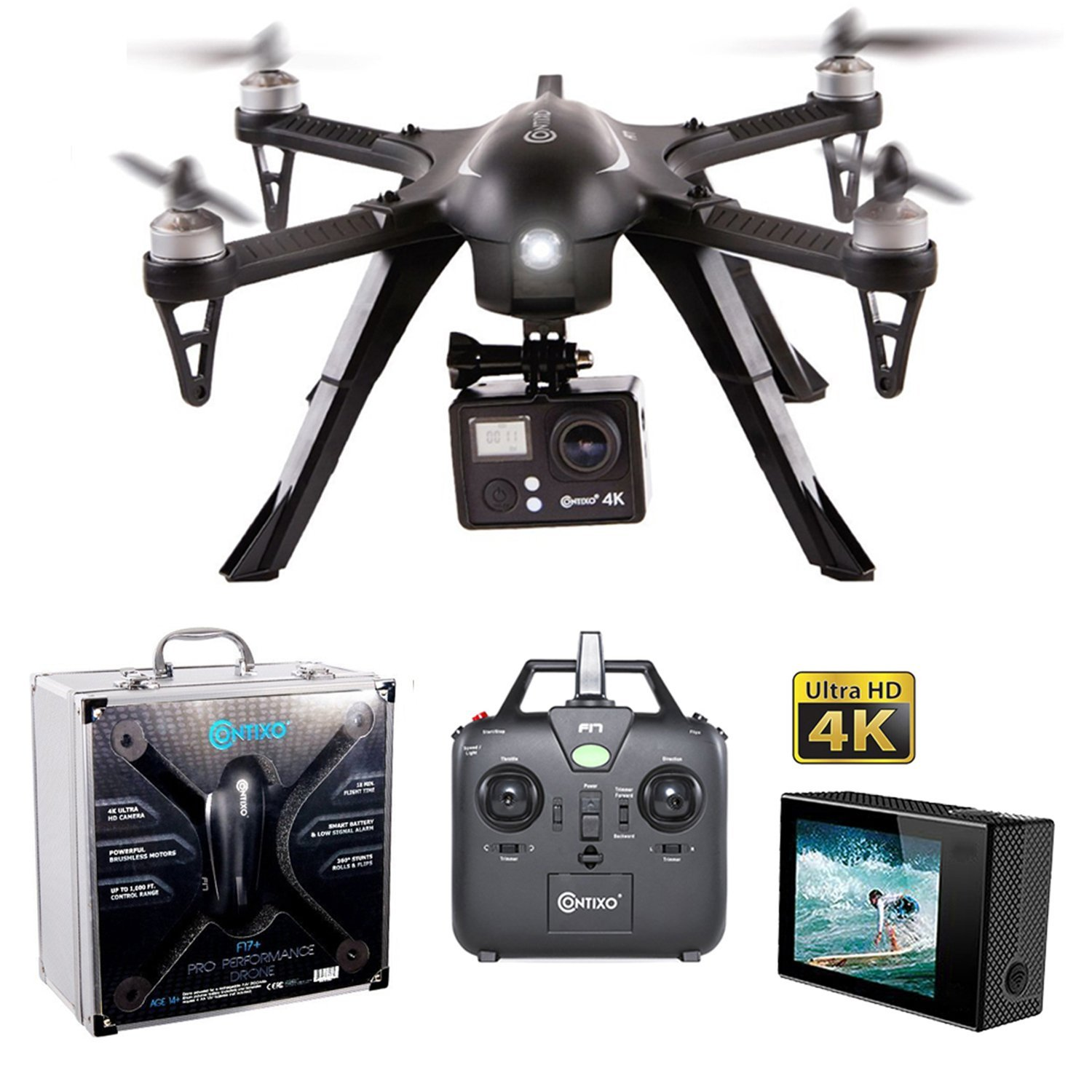 Valentines Sale Contixo F17 Rc Quadcopter Photography