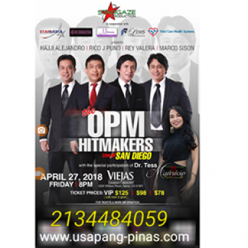 The OPM Hitmakers San Diego Concert April 27, 2018Viejas Casino & Resort